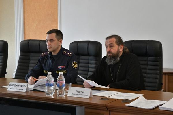 Валерий Шандаровин и Василий Плиска ведут совещание